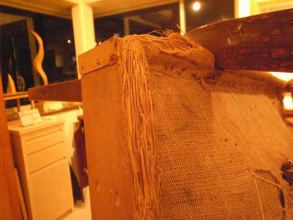 東京のオーダー家具屋の作る昭和初期の製法の椅子のリフォーム2