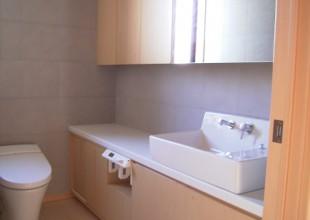 洗面・トイレ収納 洗面カウンター