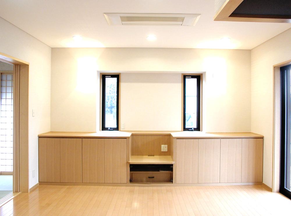 カウンター一体型家具[1]