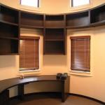 東京のオーダー家具ユウキが作った円形書棚