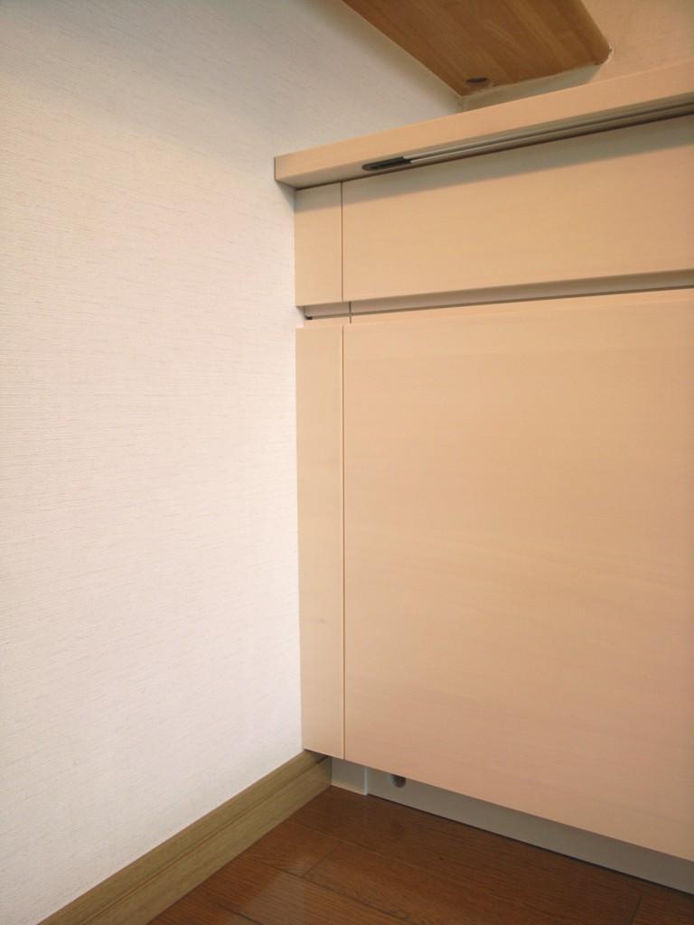 扉のみ木材のローボード[6]