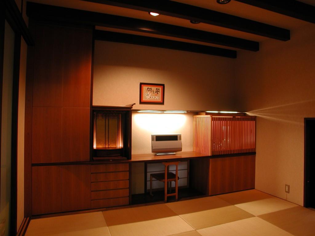 日本建築を凝縮させた和室収納家具