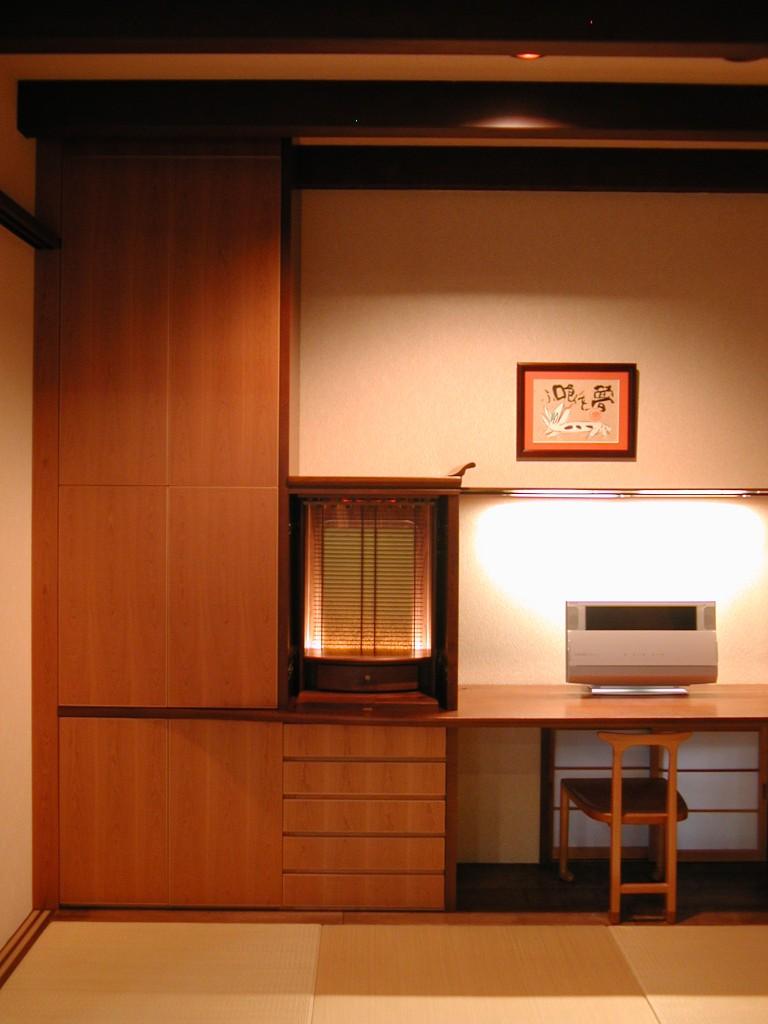 日本建築を凝縮させた和室収納家具[2]