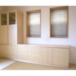 東京のオーダー家具ユウキが作った和室のローボード「収納・仏壇・飾り棚」