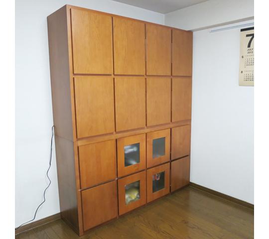 既存家具に合わせたそっくり収納家具1