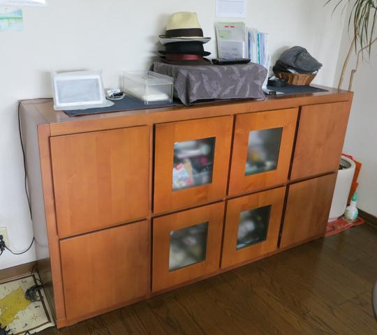 既存家具に合わせたそっくり収納家具2