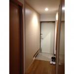 東京のオーダー家具ユウキが作った収納量UP・マンションの下駄箱収納