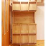 東京のオーダー家具ユウキが作った本を飾れるブックシェルフ