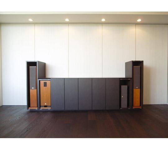 オーディオ収納付テレビボード2
