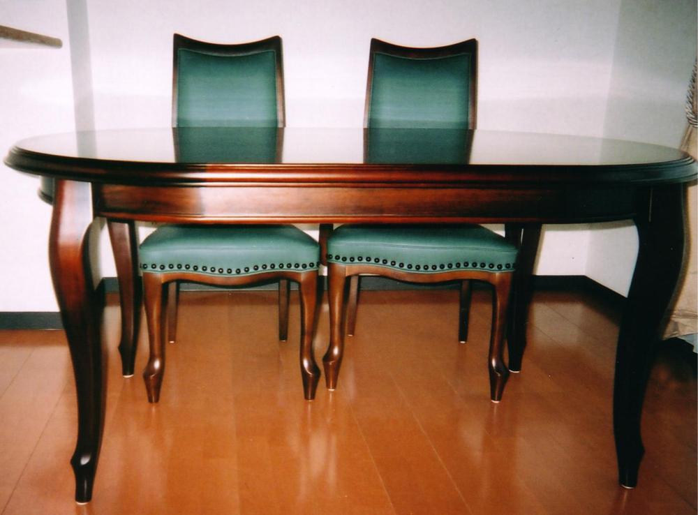猫脚ダイニングテーブル[3]