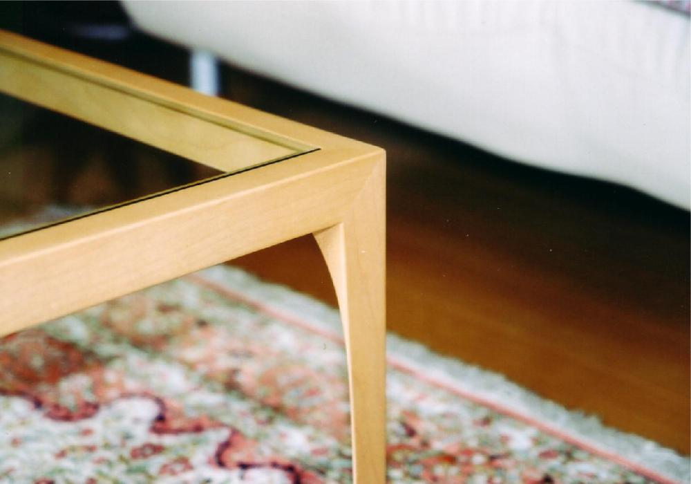ガラスのローテーブル[3]