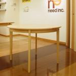 東京のオーダー家具ユウキが作ったからくりを仕込んだ丸テーブル