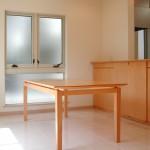 東京のオーダー家具ユウキが作ったハードメープル材のダイニングテーブル