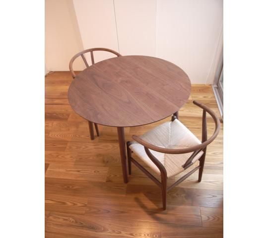 円形ダイニングテーブルセット1