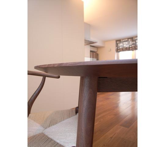 円形ダイニングテーブルセット3
