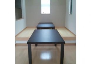 可変ダイニングテーブル