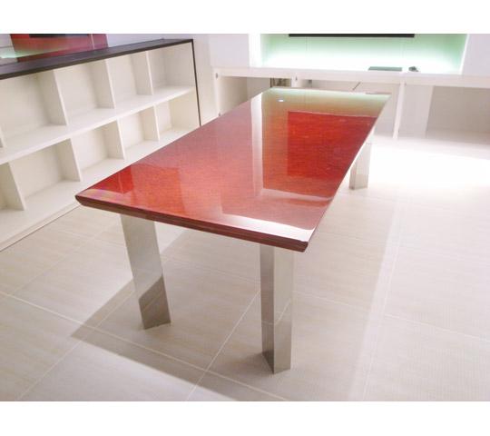鏡面塗装打ち合わせテーブル2