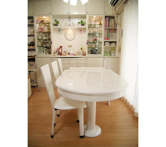 白塗りつぶし変形テーブル5