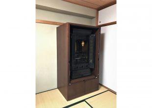 お手持ち仏壇を収納した家具