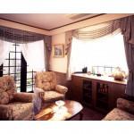 東京のオーダー家具ユウキが作った上飾りのあるカーテン