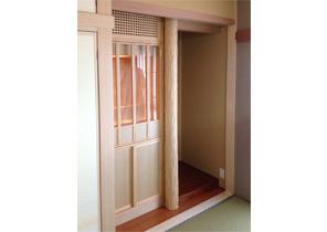 リフォーム ついつい自慢したくなる家具造り・仏壇収納