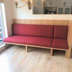 東京のオーダー家具ユウキが作ったダイニング用のソファ