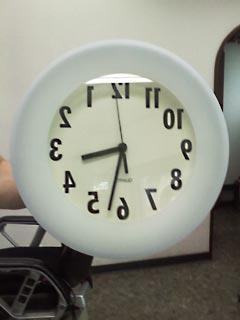 実際の時計