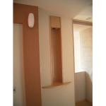 東京のオーダー家具ユウキが作った照明付きニッチです