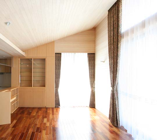 モダンタイプのカーテン01