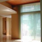 東京のオーダー家具ユウキが作ったスクリーン・シェードタイプのカーテン